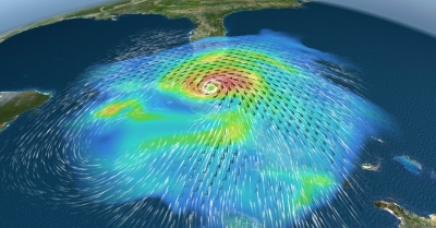 TriVis Weather Graphix hurricane visualization