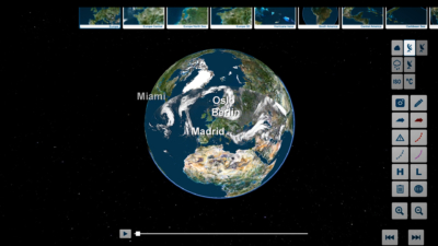 trivisTOUCH satellite view of weather event