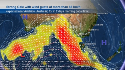 askMeteo Strong Gale weather